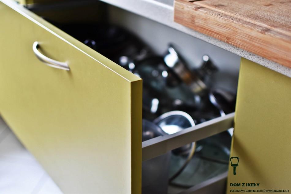 montaż szuflady kuchnia