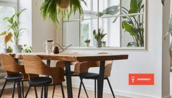 Krzesła do drewnianego stołu